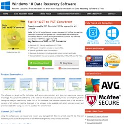 OST to PST Converter Software to Convert MS Outlook OST File to PST
