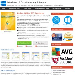 OLM to PST Converter Software to Convert Outlook for Mac OLM to PST File