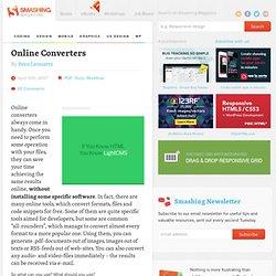 Online Converters