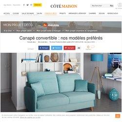 Canapé convertible : nos modèles préférés pour le salon - 05/11/16