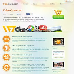 Free Video Converter | Convertir videos gratis | Freemake