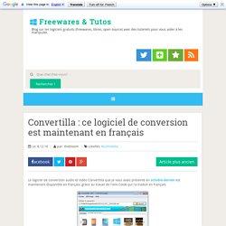 ce logiciel de conversion est maintenant en français