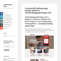 Download locksmith business lead gen converting landing pages