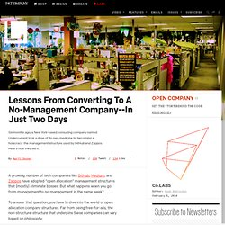 Lessons From Converting To A No-Management Company