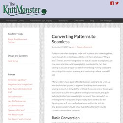 Converting Patterns to Seamless