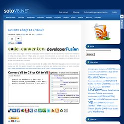 solo VB.NET - Visual Basic .Net