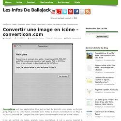 Convertir une image en icône - converticon.com