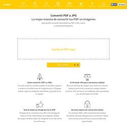 Convertir PDF a JPG – Convierte online tus PDF a imágenes gratuitamente