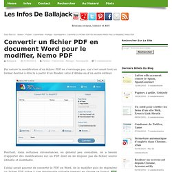 Animation pearltrees - Convertir fichier pdf en open office ...