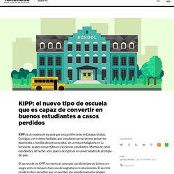 KIPP: el nuevo tipo de escuela que es capaz de convertir en buenos estudiantes a casos perdidos