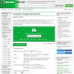 Convertir tu imagen al formato ICO