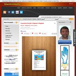 Convertire file pdf in flipbook: Sfogliami