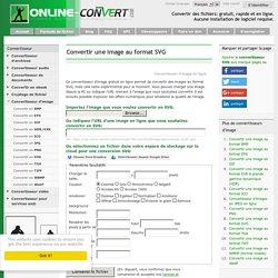 Convertisseur SVG gratuit en ligne
