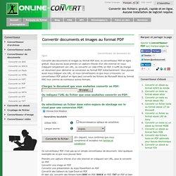 Convertisseur PDF en ligne