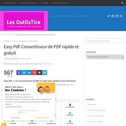 Easy Pdf. Convertisseur de PDF rapide et gratuit
