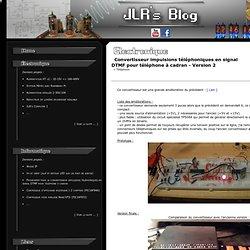 JLR's Blog - Convertisseur impulsions téléphoniques en signal DTMF pour téléphone à cadran - Version 2