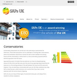 Convervatories Assessment London