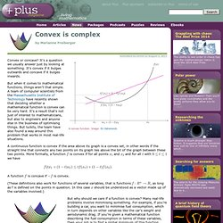 Convex is complex