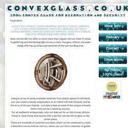 Convex Glass Mirrors UK: inspiration