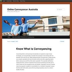 Online Conveyancer Australia