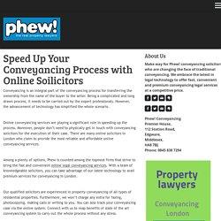 online conveyancing London - phewconveyancing