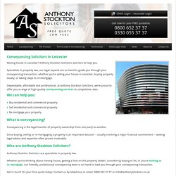 Conveyancing Solicitors Leicester