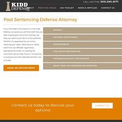 Post Conviction Attorney in Spokane,WA