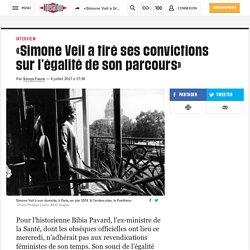 «Simone Veil atiré sesconvictions sur l'égalité deson parcours»