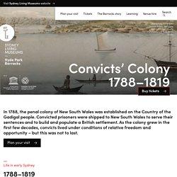 Convicts' Colony – Hyde Park Barracks