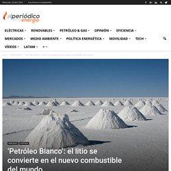'Petróleo Blanco': el litio se convierte en el nuevo combustible del mundoEl Periodico de la Energía