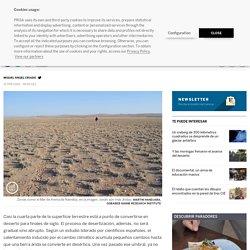 Así se convierte la tierra en un desierto