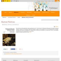Biblioteca, ciencia y convivencia - Detalle Bibliotecas Buenas Prácticas