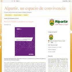Alpartir, un espacio de convivencia: Protocolo Violencia de Género en Aragón