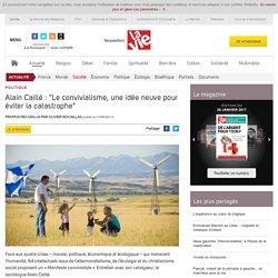 """Alain Caillé : """"Le convivialisme, une idée neuve pour éviter la catastrophe"""" - Société"""