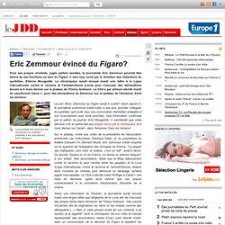 Eric Zemmour évincé du Figaro? - Eric Zemmour Figaro convocation