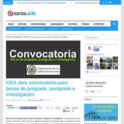OEA abre convocatoria para becas de pregrado, postgrado e investigación