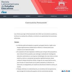 Revista Latinoamericana de Estudios Educativos