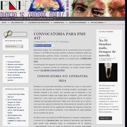 CONVOCATORIA PARA PNH #17