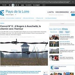 Convoi N° 8 : d'Angers à Auschwitz, le chemin vers l'horreur