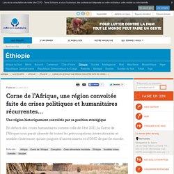 Corne de l'Afrique, une région convoitée faite de crises politiques et