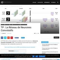 TP : Le Réseau de Neurones Convolutifs - Pensée Artificielle