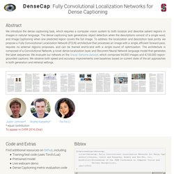 DenseCap: Fully Convolutional Localization Networks for Dense Captioning