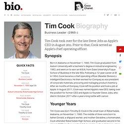 Tim Cook Biography