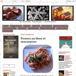 Cook and Book: Pennes au thon et macarpone