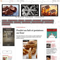 Cook and Book: Poulet au lait et potatoes au four