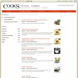 Cooks Illustrated: Search Results