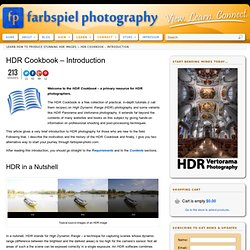 HDR Cookbook - farbspiel photography