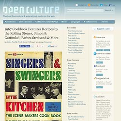 1967 Cookbook Features Recipes by the Rolling Stones, Simon & Garfunkel, Barbra Streisand & More