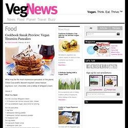 Cookbook Sneak Preview: Vegan Tiramisu Pancakes