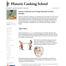 Used cookbooks and vintage illustrated cookbooks